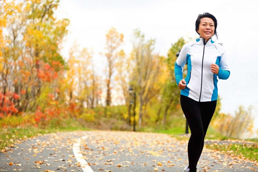 What Is Final Expense And Burial Insurance while running through the park in the fall