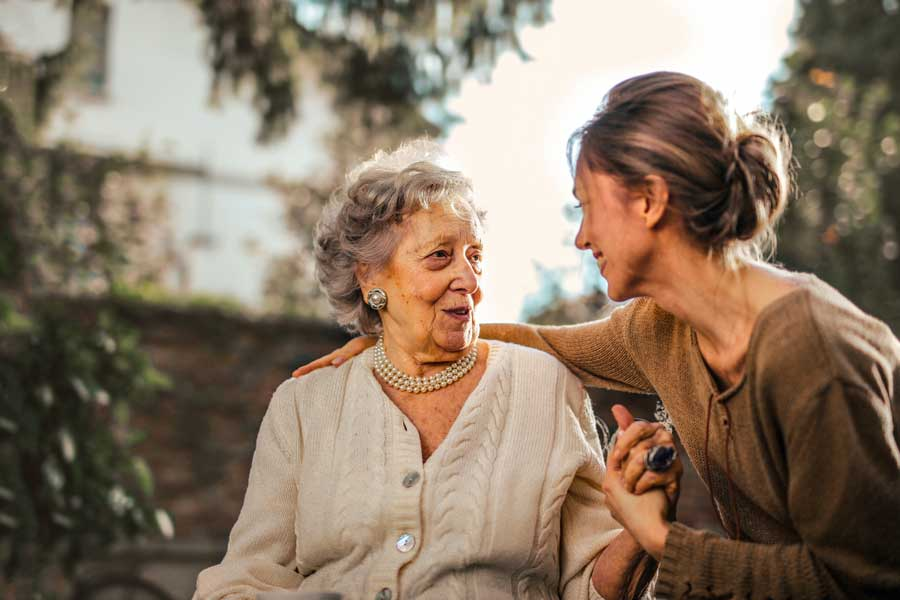 final expense insurance for seniors buying for someone else grandma with granddaughte