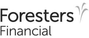 Foresters Financial Logo black and white