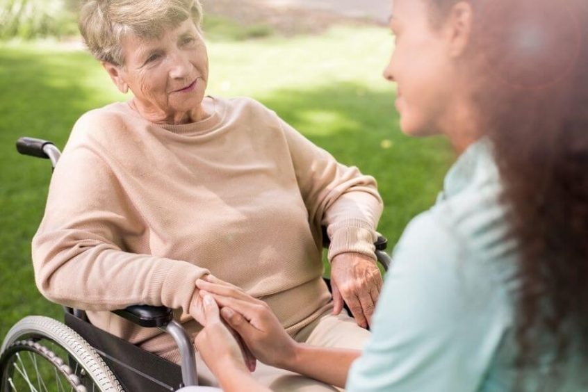 Funeral Insurance In A Wheelchair