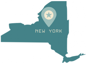 New York State outline