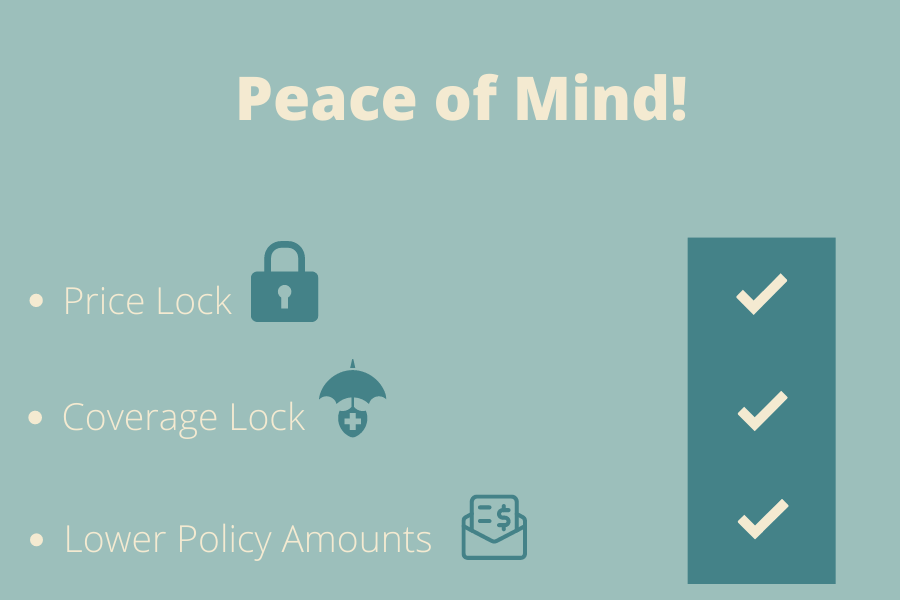 Peace of mind chart