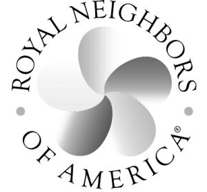 Royal Neighbors Logo black and white