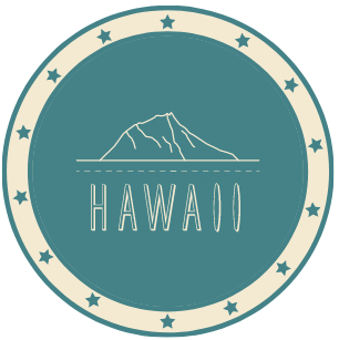 Hawaii button