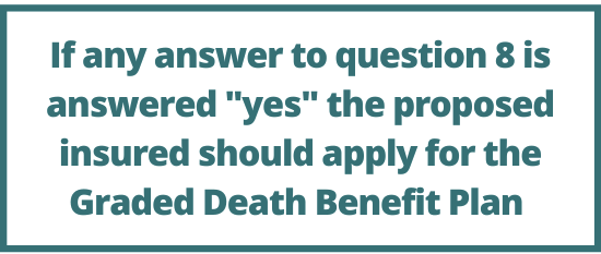 American Amicable Health Questions 3
