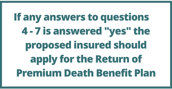 American Amicable health questions 2