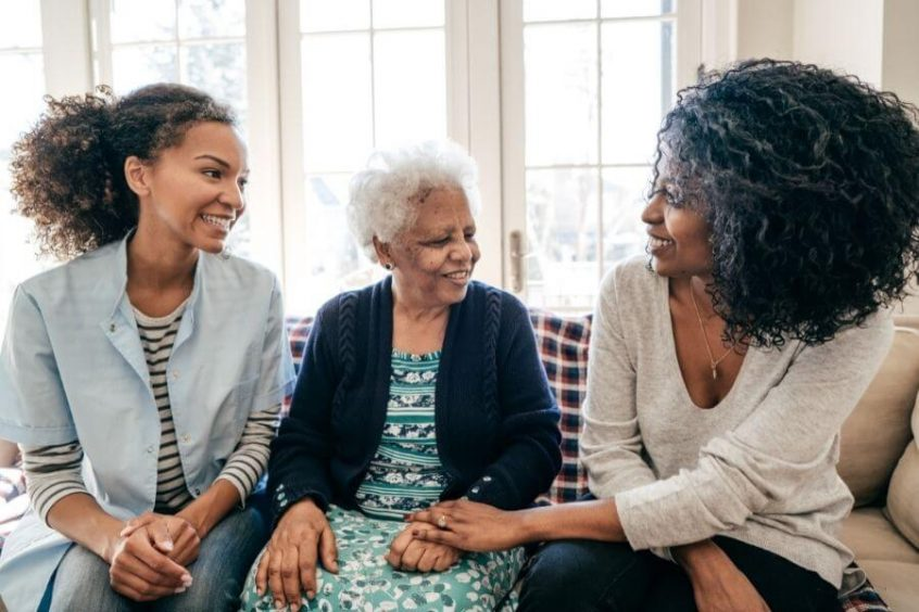 funeral insurance with home health care