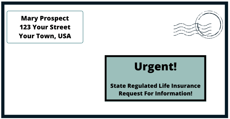 state regulated life insurance direct mail